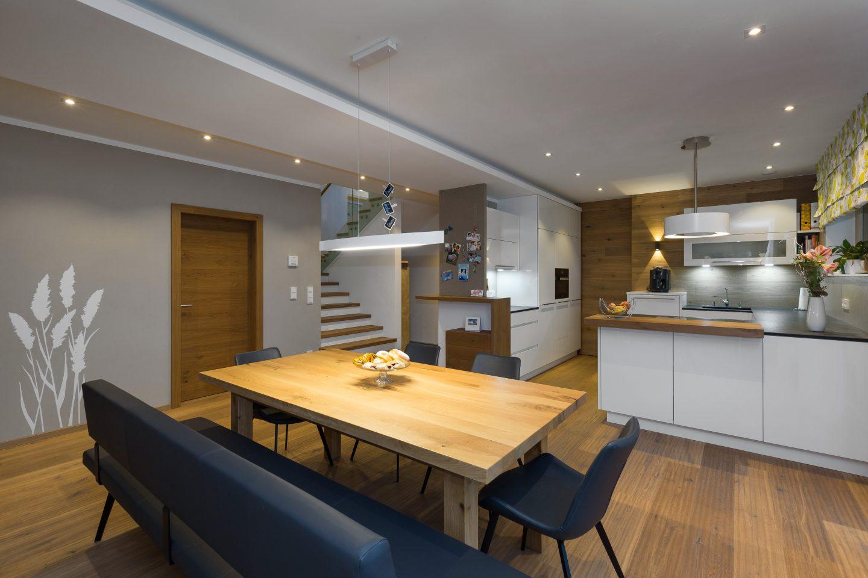 Tischler, Amstetten, Küche, Esszimmer, Modern, Weiß, Eisengestell,